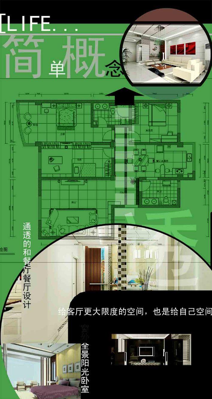 毕业设计展板(版式)_cad图纸下载-土木在线