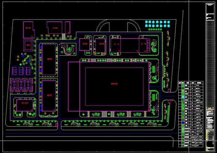 蒙牛集团宝鸡图纸绿化施工图施工住宅楼与组织设计(含工程)图片