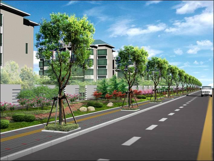 绿化效果图道路效果图小区道路效果图厂房绿化效果图大门绿化效果图