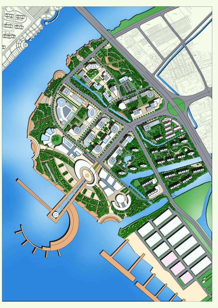 图纸 园林设计图 滨水景观  上传时间:2010-06-01 所属分类:园林设计