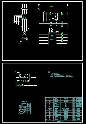 电机软启动控制原理图