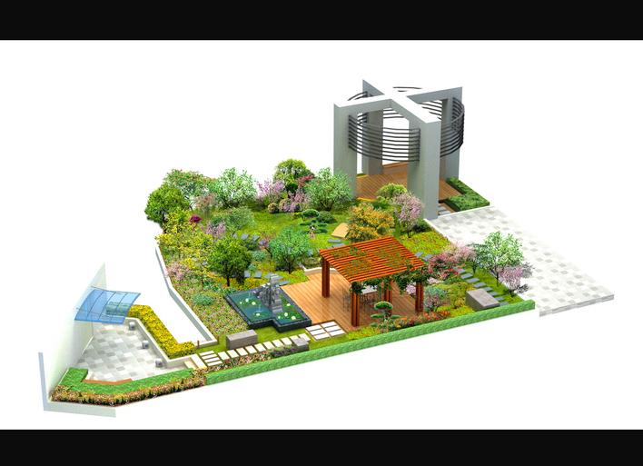 图纸 园林设计图 屋顶花园  上传时间:2010-06-09 所属分类:园林设计