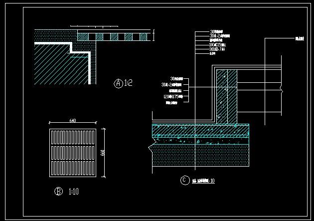 某水池的结构图_cad图纸下载-土木在线