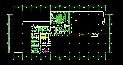 医院厨房工程平面图