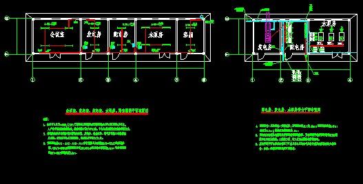加油站,收费站效果图03 某地2层框架结构加油站附属用房及网架罩棚