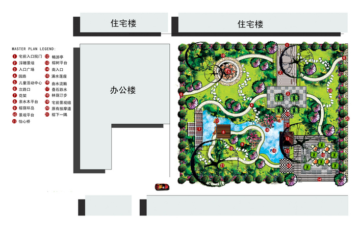 图纸 园林设计图 小庭院  上传时间:2010-07-07 所属分类:园林设计图&