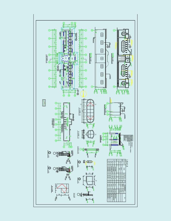 园林设计图 公共厕所