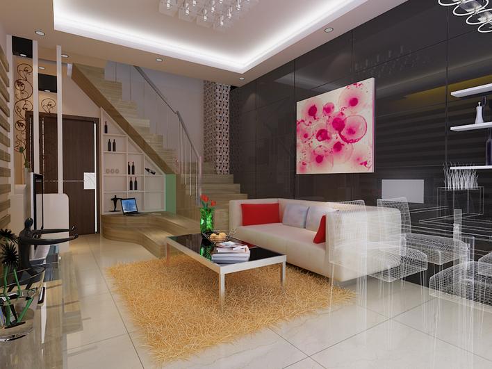 小户型室内设计_cad图纸下载-土木在线图片