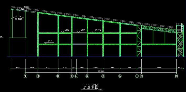 钢栈桥全套结构图. .