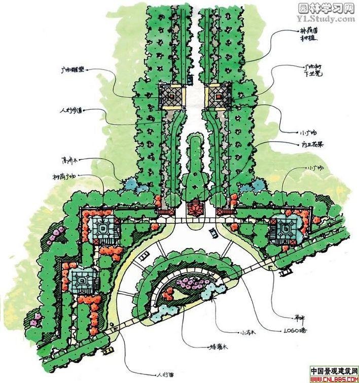图范例公园规划平面图公园景观平面图湿地公园平面图小型公园平面图