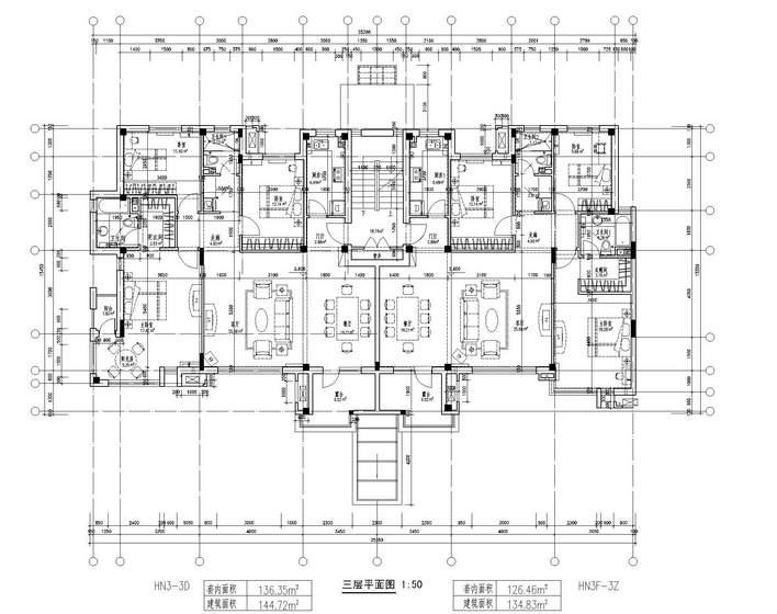 情景花园洋房设计图 - 花园洋房图纸下载 - 土木在线