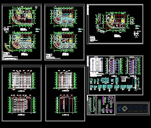 某住宅小区会所建筑设计施工图