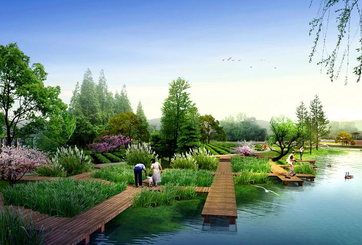 图纸 园林设计图  滨河景不清雅   湿地亲水批驳岸  相干专题:滨河佩墅 滨河图片