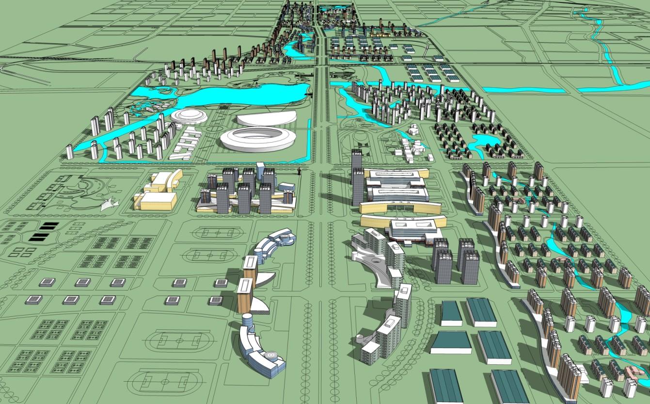 城市设计模型