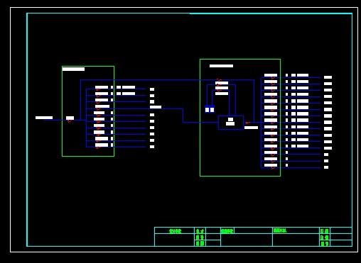 机房ups接线原理图