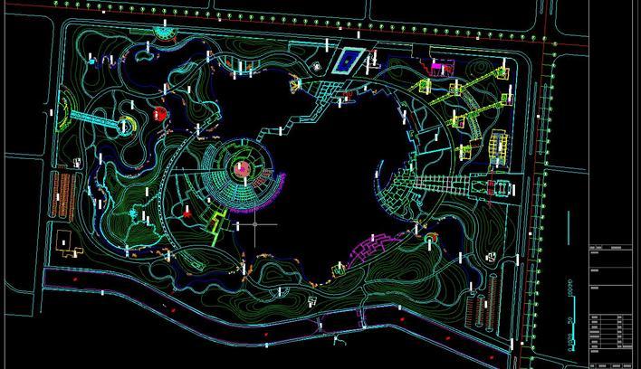 精品公园平面 相关专题:公园总平面图公园设计总平面图泪珠公园总平面