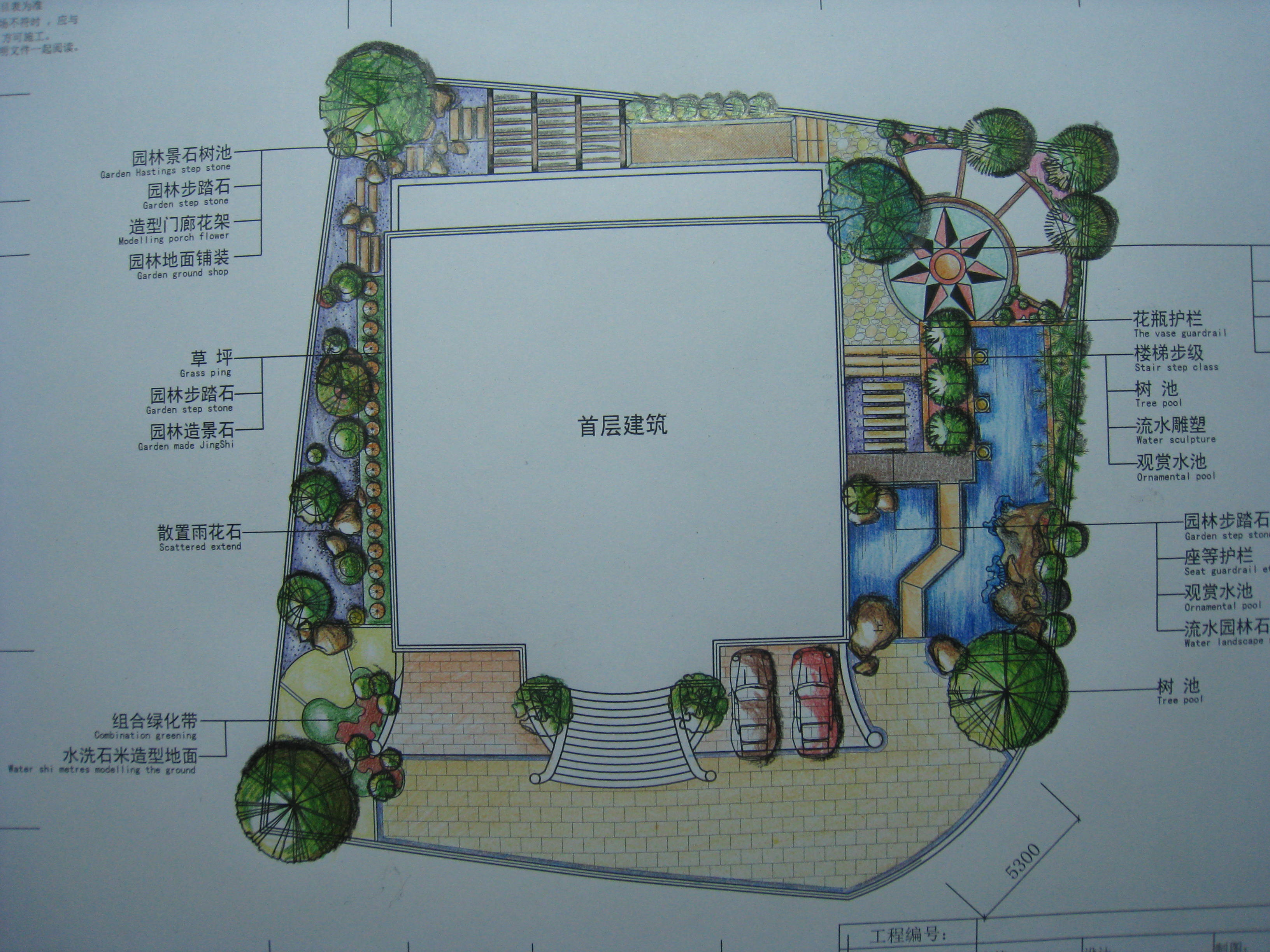 别墅园林设计_cad图纸下载-土木在线图片图片