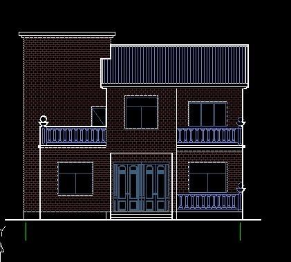 经济型别墅  一层半