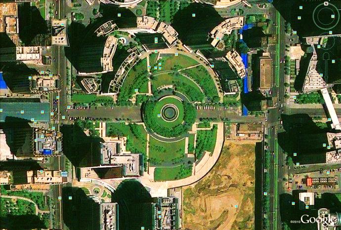 GoogleEarth古今中外大师单位作品集_CO土木洛阳景观设计景观图片