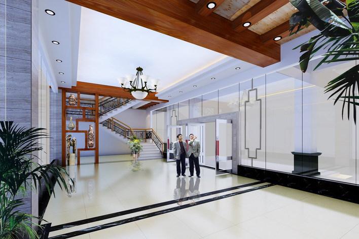 办公楼 效果图 办公楼设计效果图 小型办公楼效果图 欧式办公楼效果图