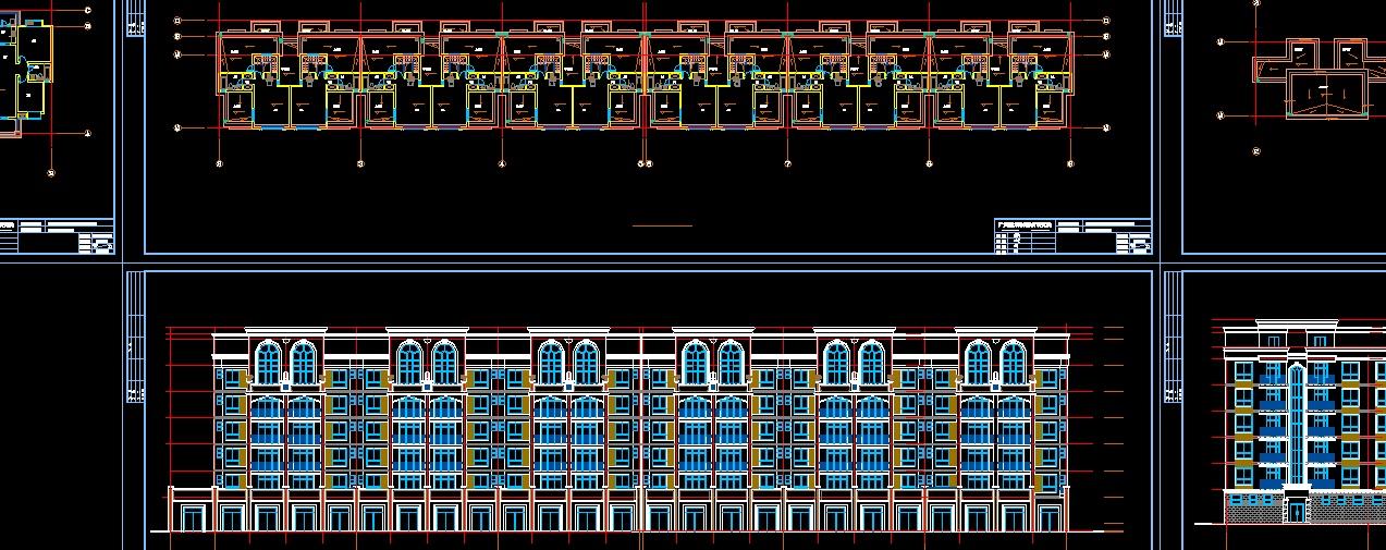 砖混结构住宅设计图