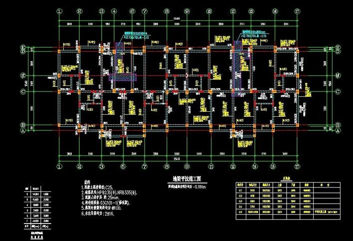 框架结构pkpm建模步骤