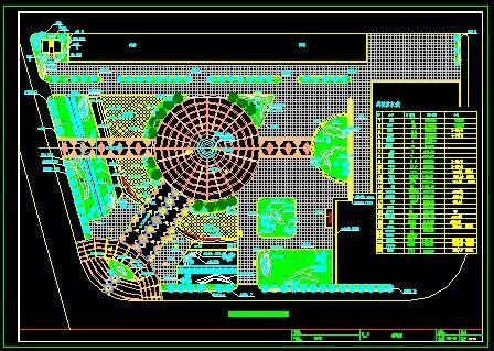 某广场景观全套施工图