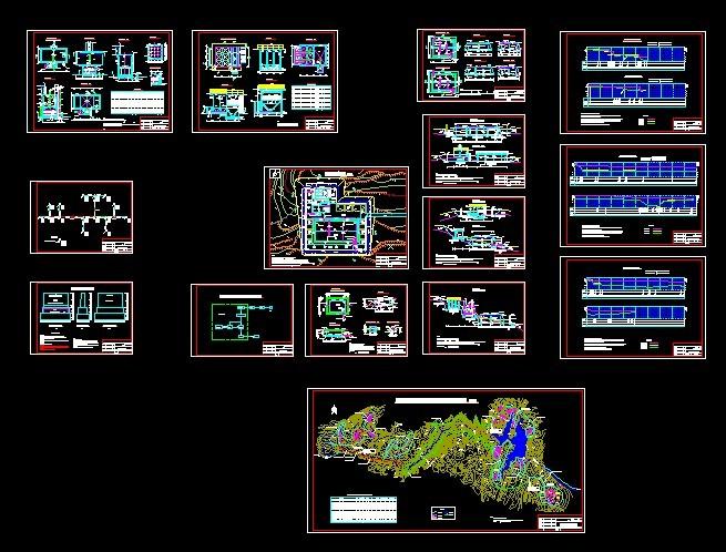 农村安全饮水工程设计图