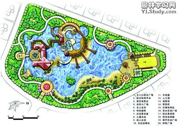 园林平面图_cad图纸下载-土木在线