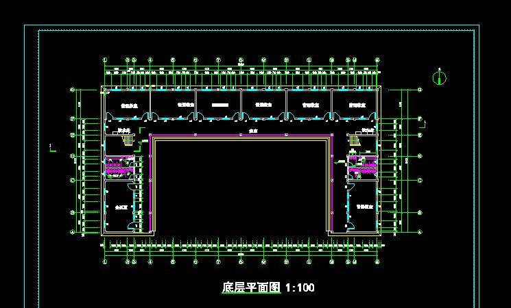 屋架)建筑结构图 某地厂区蒸汽管线基础图及蒸汽管线过路钢桁架结构图