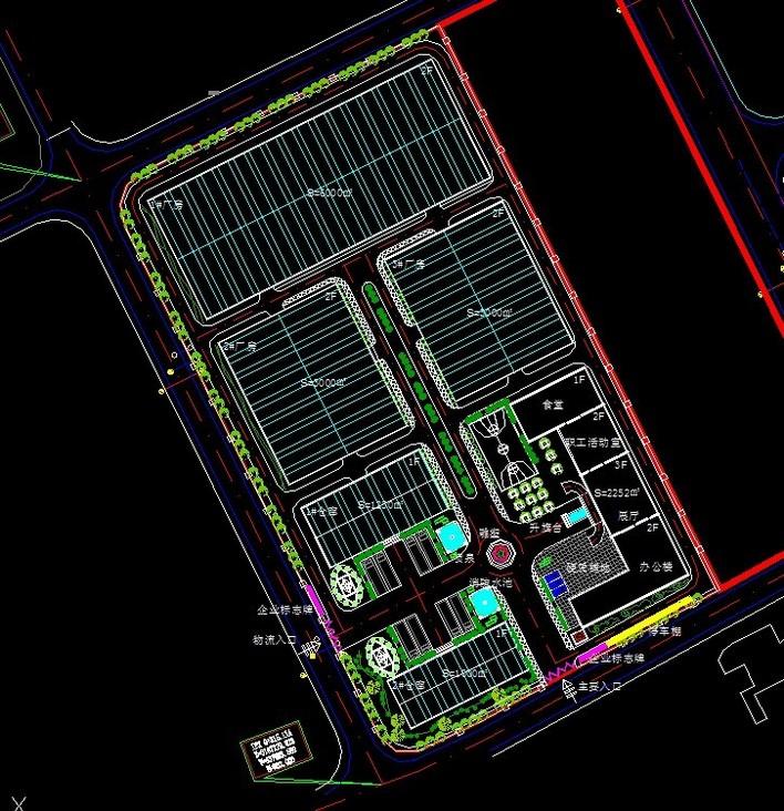 设计图分享 景区大门设计 > 欧式小区大门设计效果图  欧式小区大门