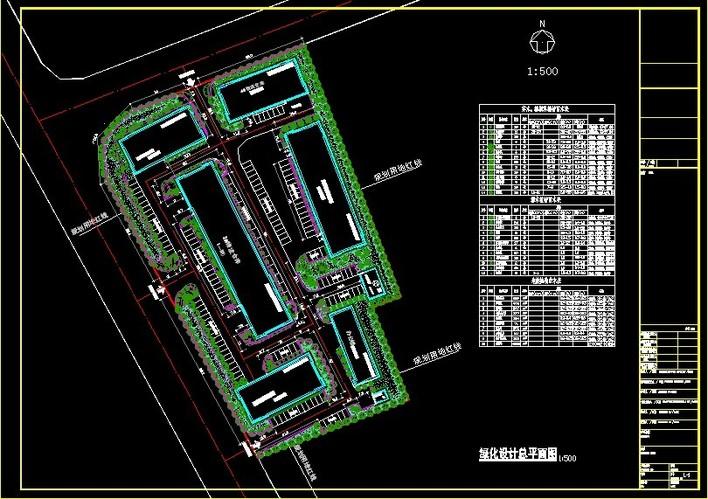 厂区绿化设计详图图片