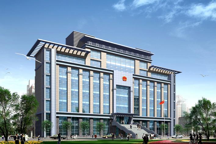 欧式办公楼效果图 小型办公楼效果图 多层办公楼效果图 办公楼效果图