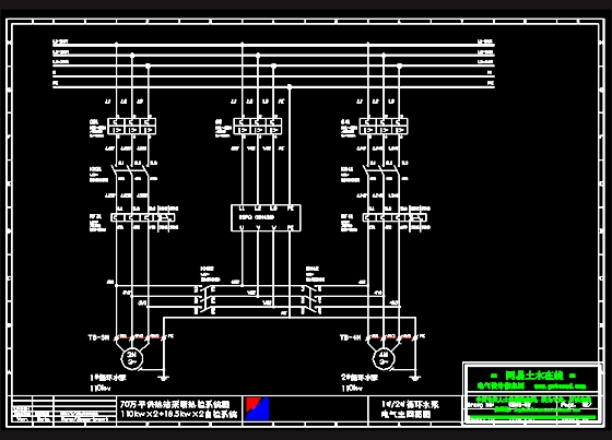 相关专题:电动机启动接线图
