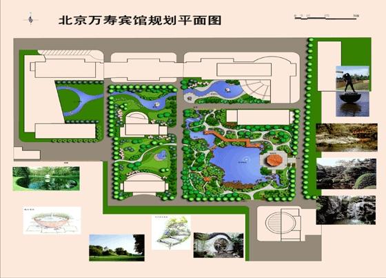 万寿宾馆设计平面图