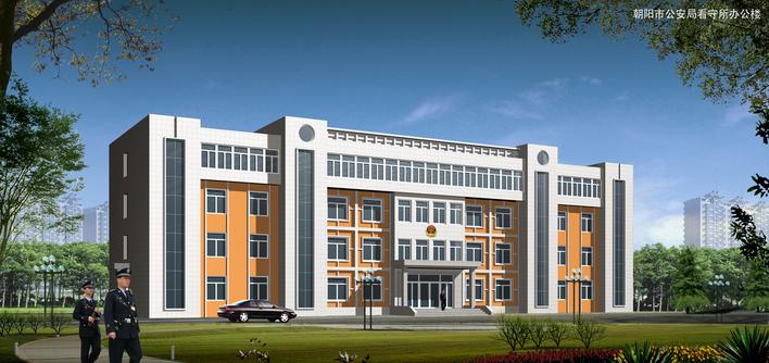 图办公大门效果图办公厂房效果图办公楼立面效果图