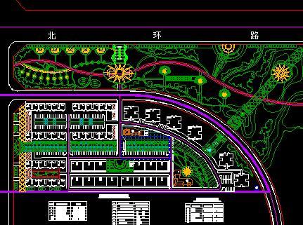 小区绿地规划设计 小区规划cad下载 小区规划设计cad 小区规划快题