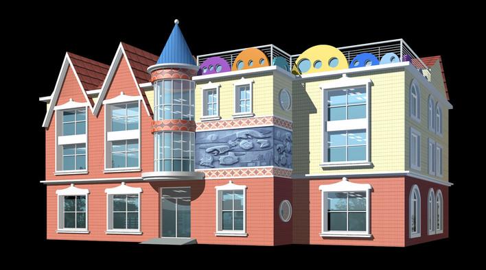 图纸 建筑图纸 幼儿园效果图  (0人评价)                   114次