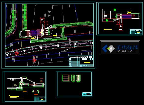 设计图给水泵站设计图雨水泵站施工图排水泵站设计图污水泵站设计图