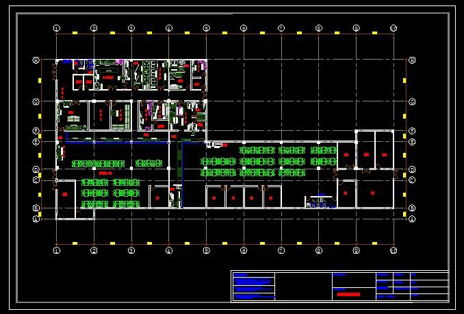 食堂厨房平面图