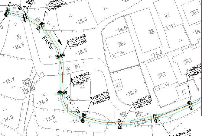 公路及城市道路栏杆,排水沟的做法大样图