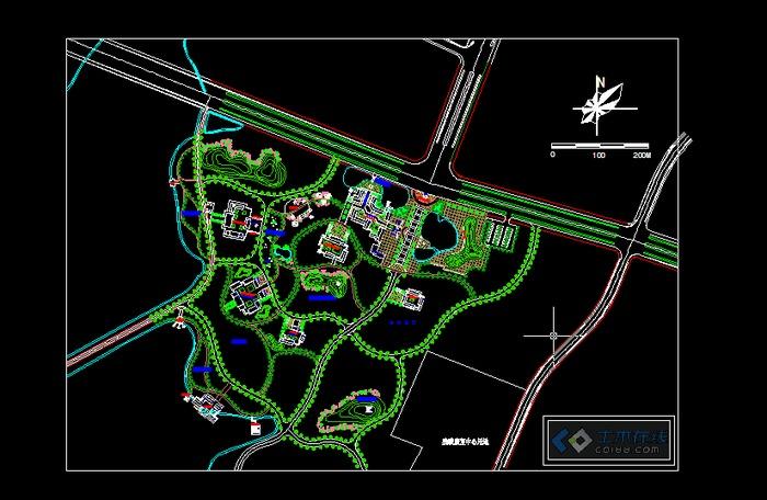 公园入口景观设计