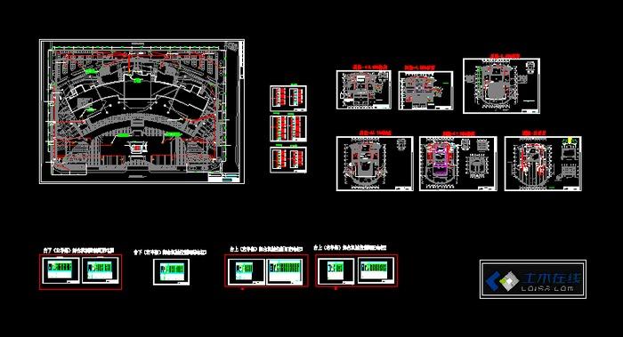 电气设计图纸目录 冷库电气设计图纸