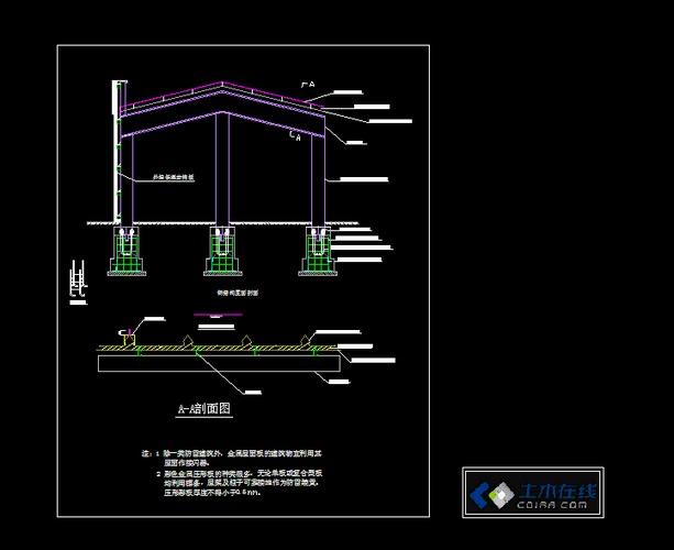 钢结构防雷详细做法