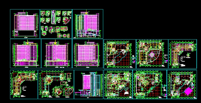 江西新能源宿舍楼梯图平面设计图展示