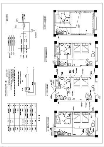 标准客房设计平面图分享展示
