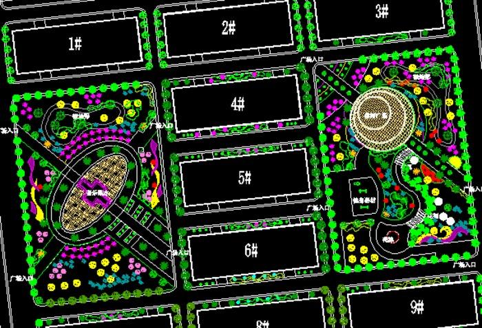 图纸 园林设计图  景观规划设计  工业园及厂区景观规划设计图(工业园