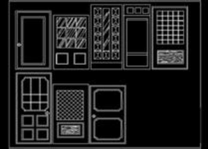 单层钢结构黎族大殿建筑图全套带节点大样  (2人评价)