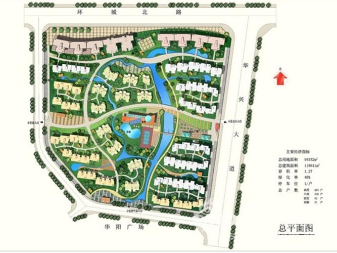 手绘平面图07的图片; 景观园林设计平面图;