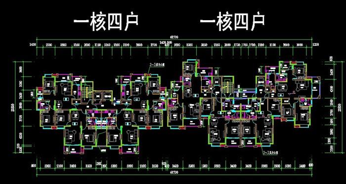 不错的图纸,值得下载参考 相关专题:多层户型多层住宅户型设计多层